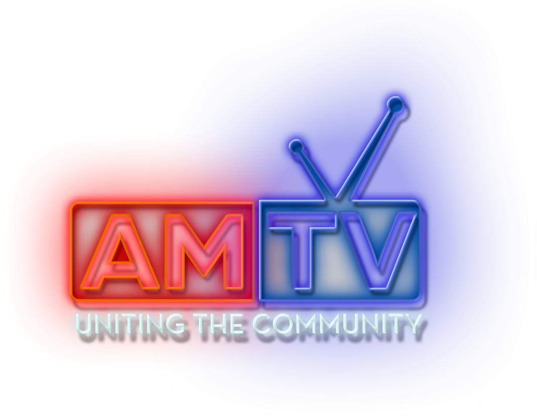AMTV Logo Uniting White About Page